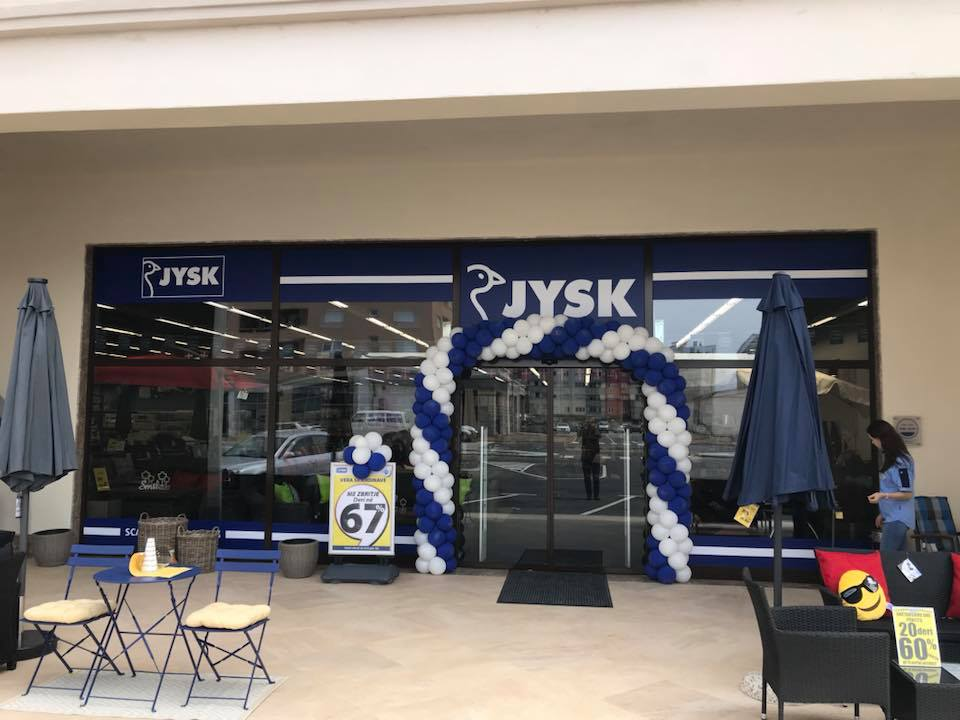 Grand Opening of Jysk
