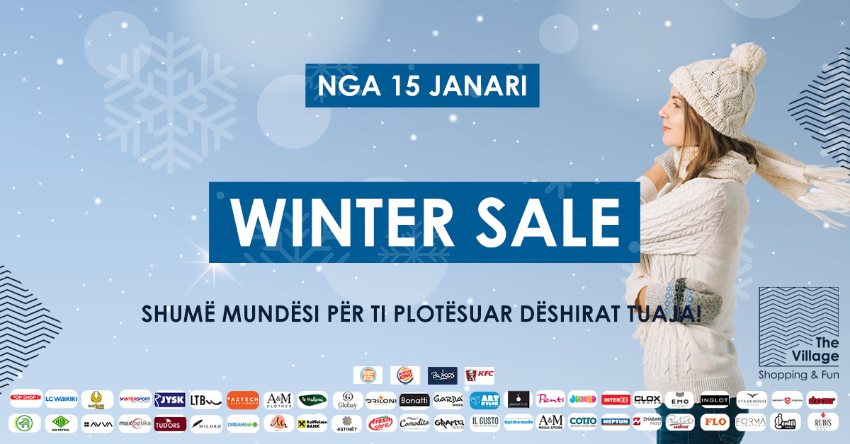 Winter Sale në The Village